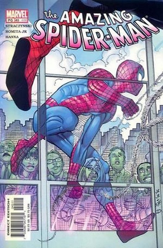 Cover of Amazing Spider-Man (Vol 2) #45. One of 250,000 Vintage American Comics on sale from Krypton!