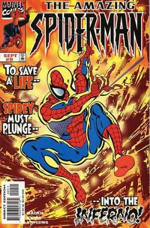 Cover of Amazing Spider-Man (Vol 2) #9. One of 250,000 Vintage American Comics on sale from Krypton!
