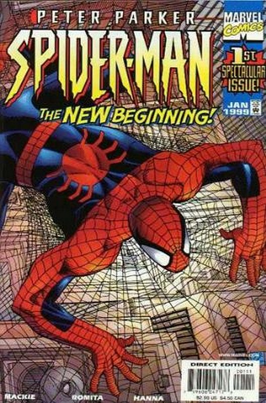 Cover of Peter Parker Spider-Man #1. One of 250,000 Vintage American Comics on sale from Krypton!