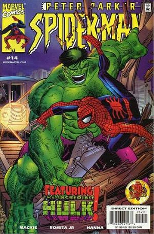 Cover of Peter Parker Spider-Man #14. One of 250,000 Vintage American Comics on sale from Krypton!