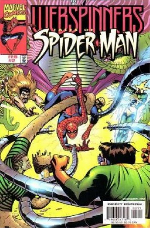 Cover of Webspinners Tales of Spider-Man #2. One of 250,000 Vintage American Comics on sale from Krypton!