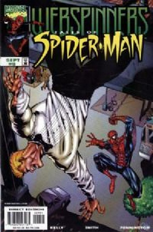 Cover of Webspinners Tales of Spider-Man #9. One of 250,000 Vintage American Comics on sale from Krypton!