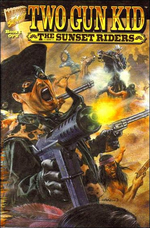 Cover of Two Gun Kid: The Sunset Riders (1995 Ltd) #1. One of 250,000 Vintage American Comics on sale from Krypton!