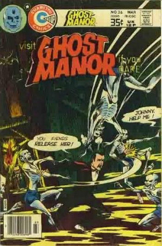 Cover of Ghost Manor (Vol 2) #36. One of 250,000 Vintage American Comics on sale from Krypton!