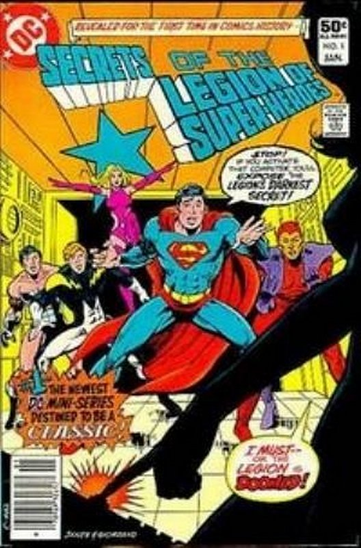 Cover of Secrets of the Legion of Super-Heroes (1981 Ltd) #1. One of 250,000 Vintage American Comics on sale from Krypton!
