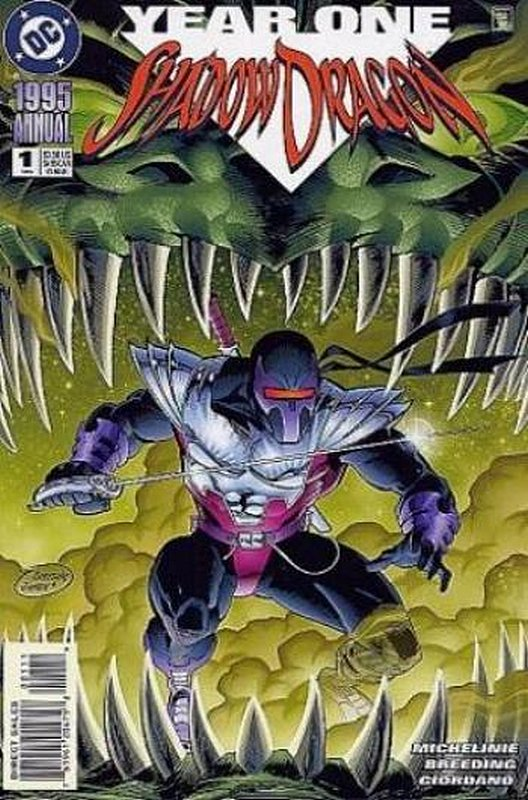 Cover of Shadowdragon Annual (1995 One Shot) #1. One of 250,000 Vintage American Comics on sale from Krypton!