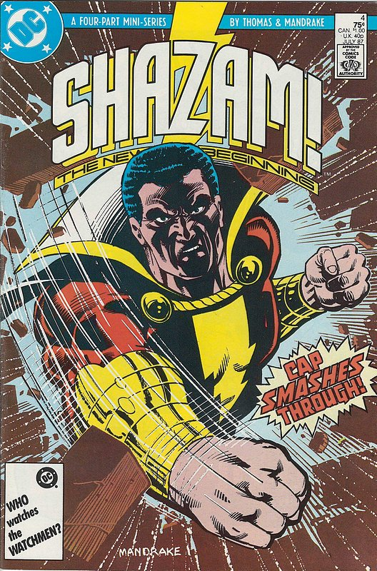 Cover of Shazam! The New Beginning (1987 Ltd) #4. One of 250,000 Vintage American Comics on sale from Krypton!