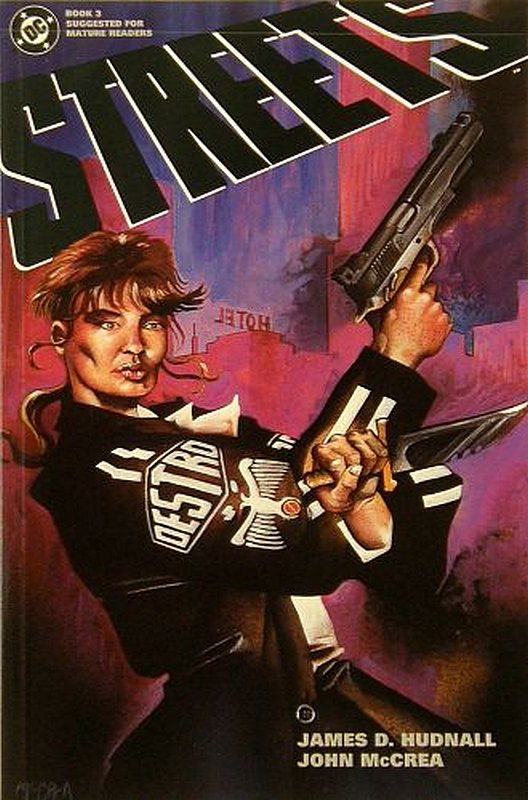 Cover of Streets (1993 Ltd) #3. One of 250,000 Vintage American Comics on sale from Krypton!
