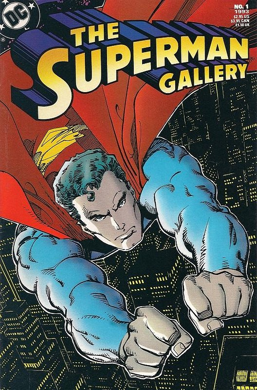 Cover of Superman Gallery (1993 One Shot) #1. One of 250,000 Vintage American Comics on sale from Krypton!