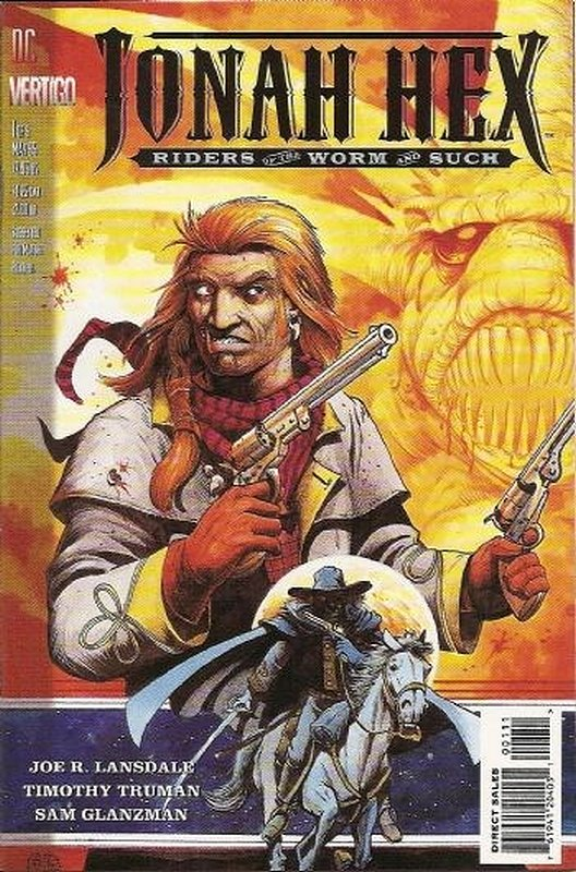 Cover of Jonah Hex: Riders of the Worm and Such #1. One of 250,000 Vintage American Comics on sale from Krypton!