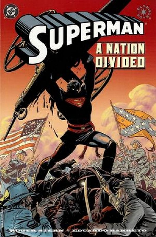 Cover of Superman: A Nation Divided (1998 One Shot) #1. One of 250,000 Vintage American Comics on sale from Krypton!