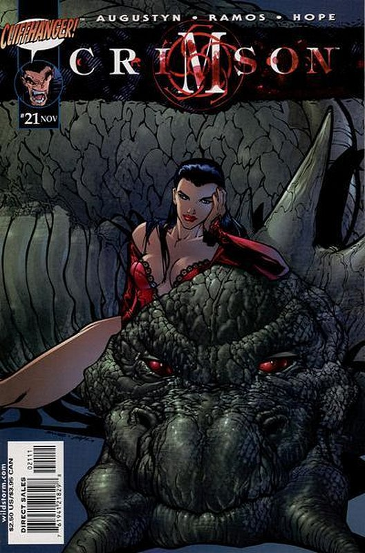 Cover of Crimson (Vol 2) #21. One of 250,000 Vintage American Comics on sale from Krypton!