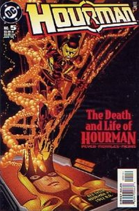 Cover of Hourman #5. One of 250,000 Vintage American Comics on sale from Krypton!