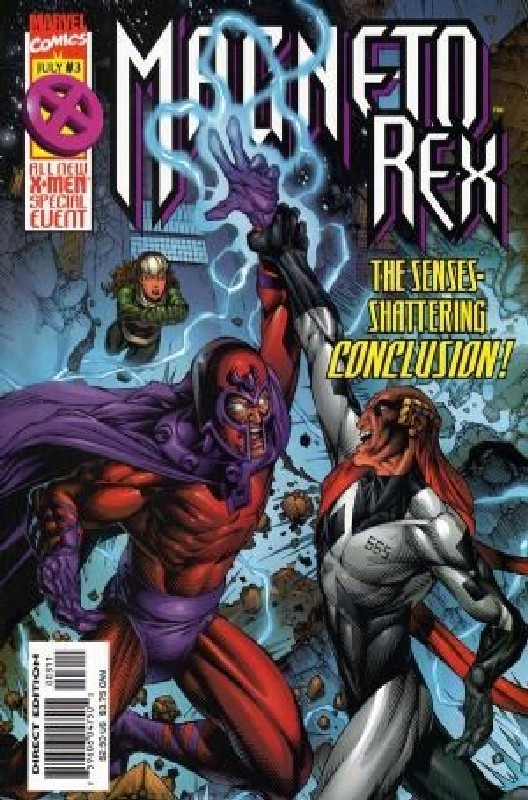 Cover of Magneto Rex (1999 Ltd) #3. One of 250,000 Vintage American Comics on sale from Krypton!