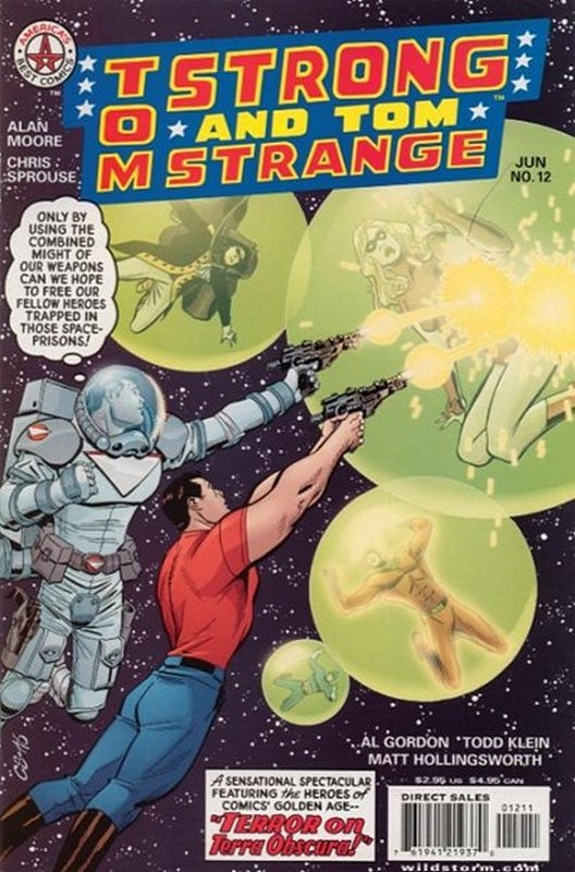 Cover of Tom Strong (Vol 1) #12. One of 250,000 Vintage American Comics on sale from Krypton!
