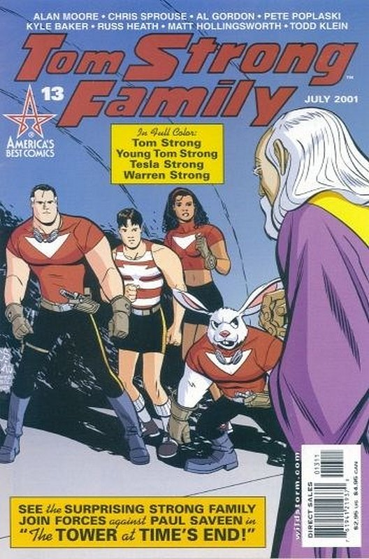 Cover of Tom Strong (Vol 1) #13. One of 250,000 Vintage American Comics on sale from Krypton!