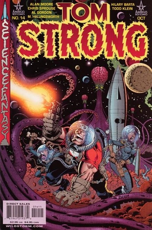 Cover of Tom Strong (Vol 1) #14. One of 250,000 Vintage American Comics on sale from Krypton!