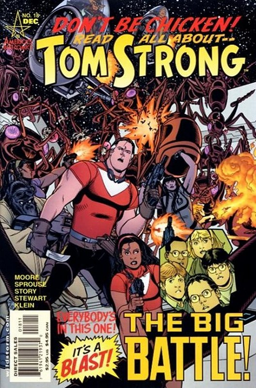 Cover of Tom Strong (Vol 1) #18. One of 250,000 Vintage American Comics on sale from Krypton!
