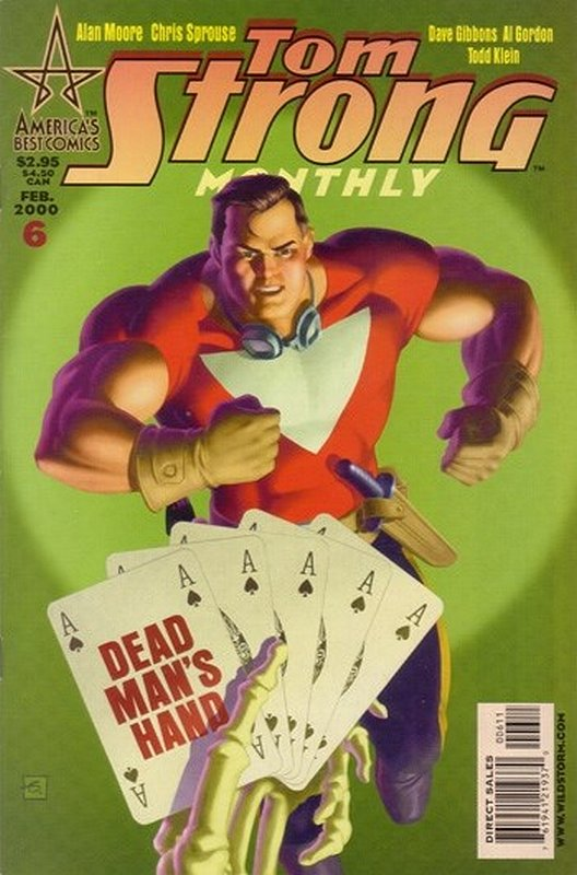 Cover of Tom Strong (Vol 1) #6. One of 250,000 Vintage American Comics on sale from Krypton!