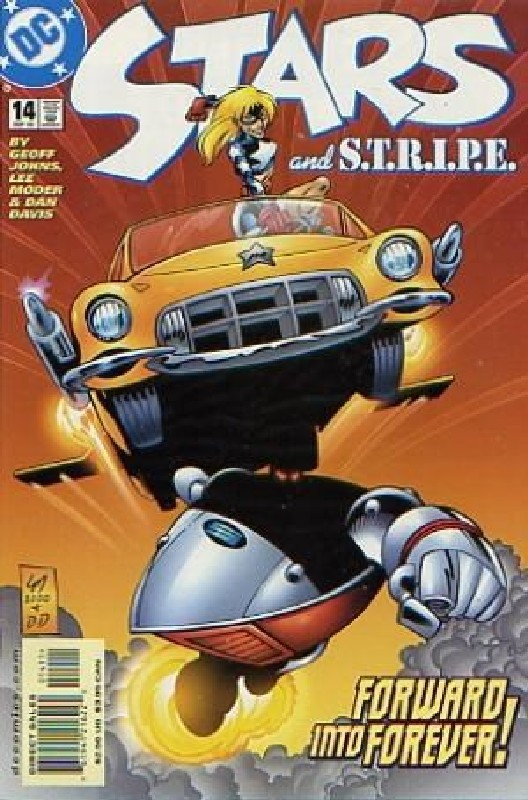 Cover of Stars & Stripe (Vol 1) #14. One of 250,000 Vintage American Comics on sale from Krypton!