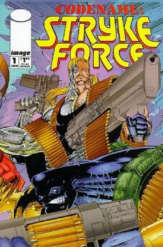 Cover of Codename: Stryke Force (Vol 1) #1. One of 250,000 Vintage American Comics on sale from Krypton!
