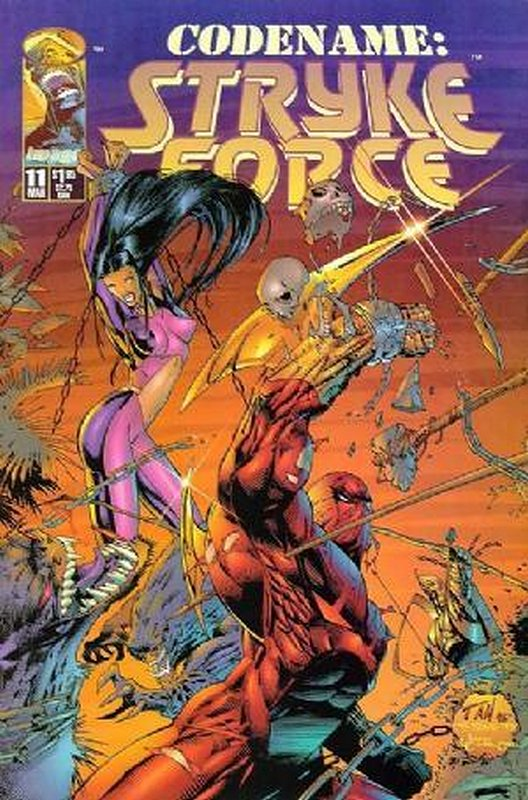 Cover of Codename: Stryke Force (Vol 1) #11. One of 250,000 Vintage American Comics on sale from Krypton!