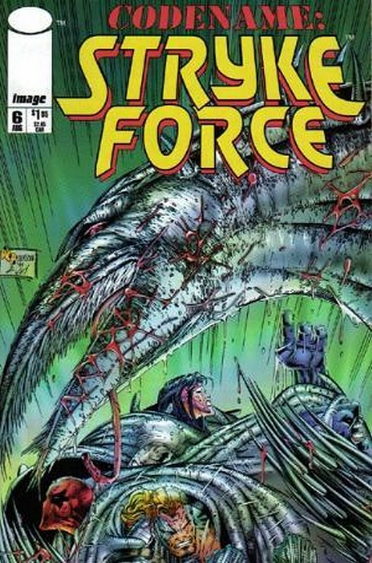 Cover of Codename: Stryke Force (Vol 1) #6. One of 250,000 Vintage American Comics on sale from Krypton!