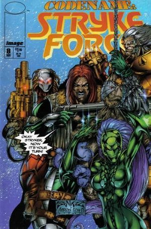 Cover of Codename: Stryke Force (Vol 1) #8. One of 250,000 Vintage American Comics on sale from Krypton!