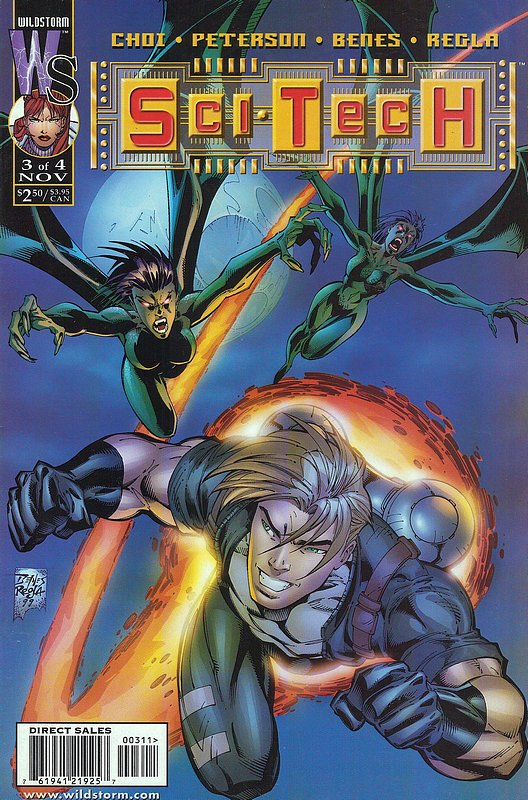 Cover of Sci Tech (1999 Ltd) #3. One of 250,000 Vintage American Comics on sale from Krypton!