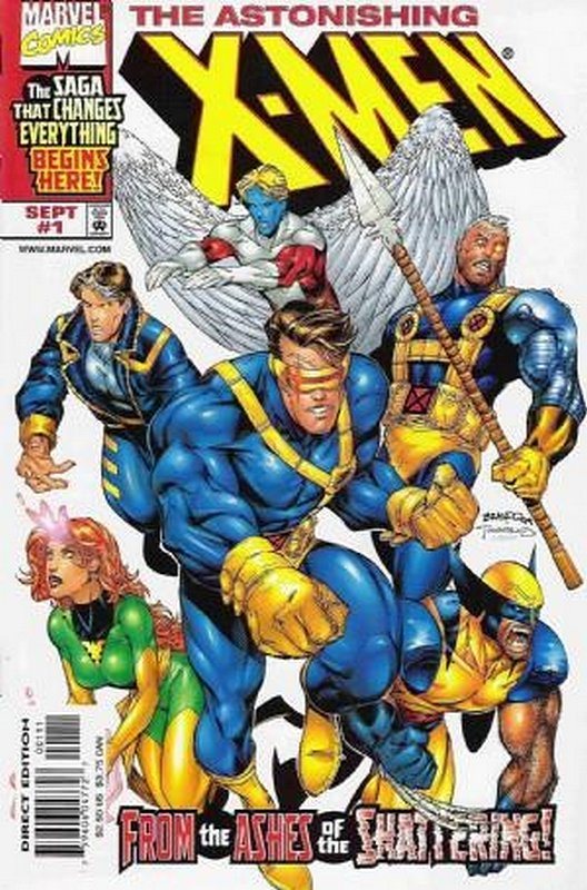 Cover of Astonishing X-Men (1999 Ltd) #1. One of 250,000 Vintage American Comics on sale from Krypton!