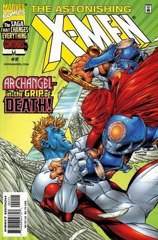 Cover of Astonishing X-Men (1999 Ltd) #2. One of 250,000 Vintage American Comics on sale from Krypton!