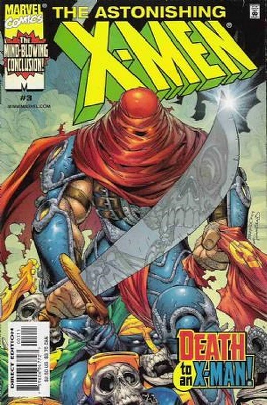 Cover of Astonishing X-Men (1999 Ltd) #3. One of 250,000 Vintage American Comics on sale from Krypton!