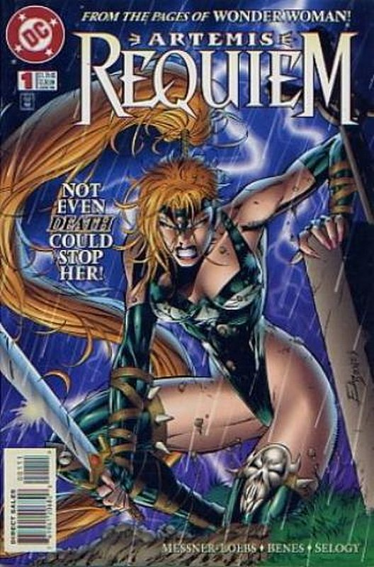 Cover of Artemis Requiem (1996 Ltd) #1. One of 250,000 Vintage American Comics on sale from Krypton!