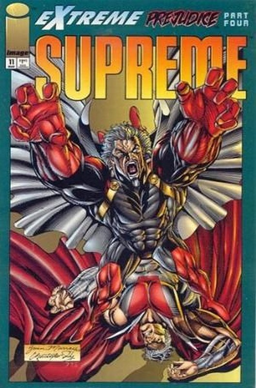 Cover of Supreme (Vol 1) #11. One of 250,000 Vintage American Comics on sale from Krypton!