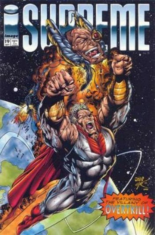 Cover of Supreme (Vol 1) #19. One of 250,000 Vintage American Comics on sale from Krypton!