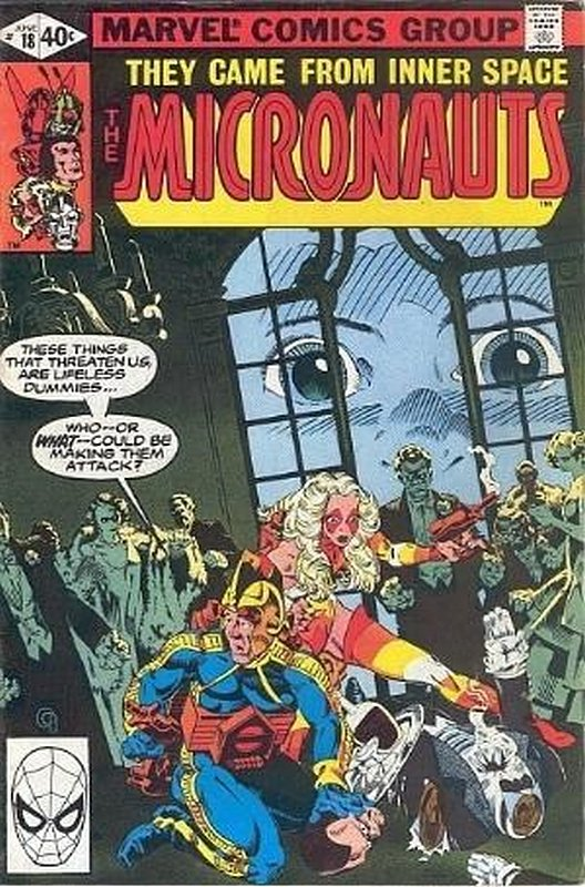 Cover of Micronauts (Vol 1) #18. One of 250,000 Vintage American Comics on sale from Krypton!