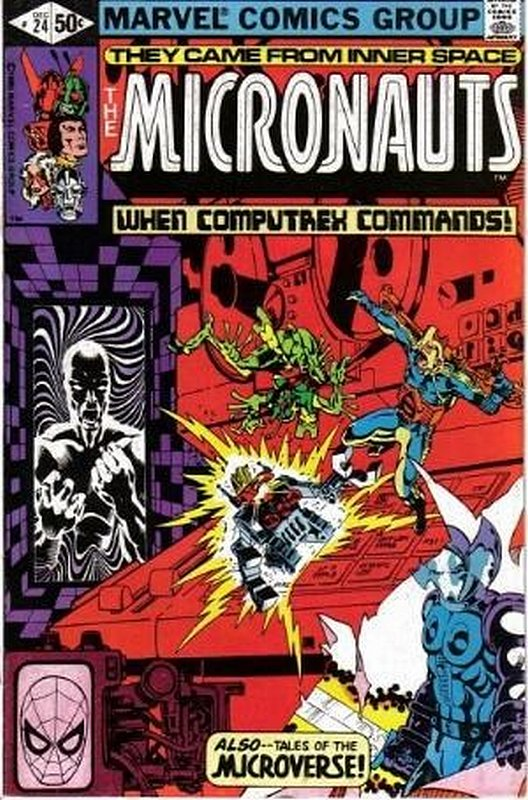 Cover of Micronauts (Vol 1) #24. One of 250,000 Vintage American Comics on sale from Krypton!