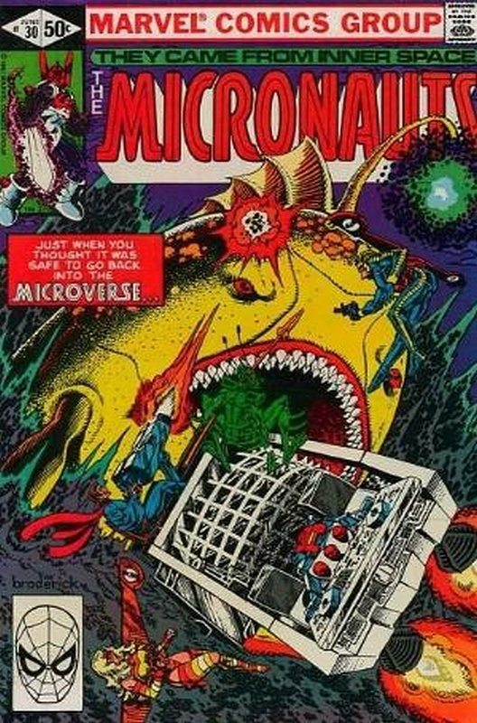 Cover of Micronauts (Vol 1) #30. One of 250,000 Vintage American Comics on sale from Krypton!
