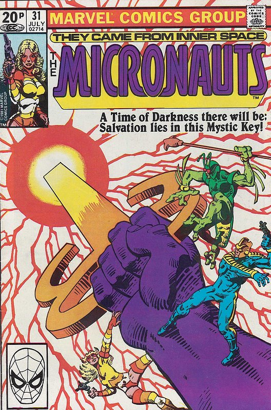 Cover of Micronauts (Vol 1) #31. One of 250,000 Vintage American Comics on sale from Krypton!