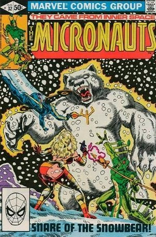 Cover of Micronauts (Vol 1) #32. One of 250,000 Vintage American Comics on sale from Krypton!