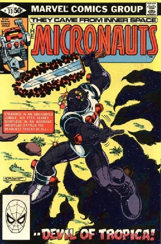 Cover of Micronauts (Vol 1) #33. One of 250,000 Vintage American Comics on sale from Krypton!