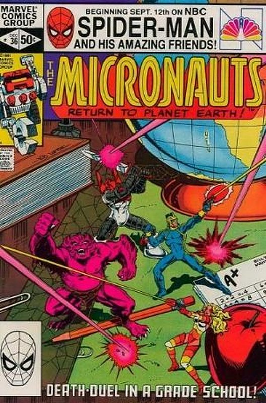 Cover of Micronauts (Vol 1) #36. One of 250,000 Vintage American Comics on sale from Krypton!