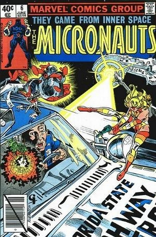 Cover of Micronauts (Vol 1) #6. One of 250,000 Vintage American Comics on sale from Krypton!