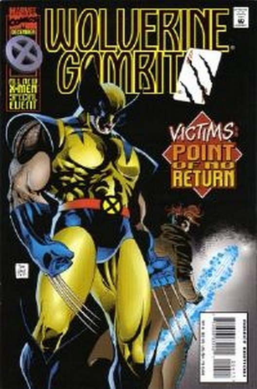 Cover of Wolverine/Gambit: Victims (1995 Ltd) #4. One of 250,000 Vintage American Comics on sale from Krypton!