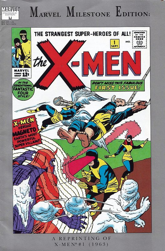 Cover of Uncanny X-Men 1: Marvel Milestone Edition #1. One of 250,000 Vintage American Comics on sale from Krypton!