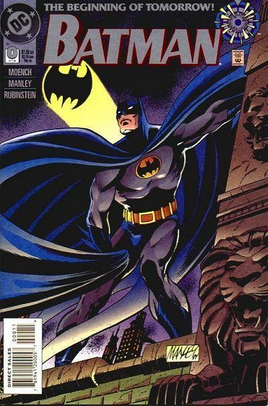 Cover of Batman #0. One of 250,000 Vintage American Comics on sale from Krypton!