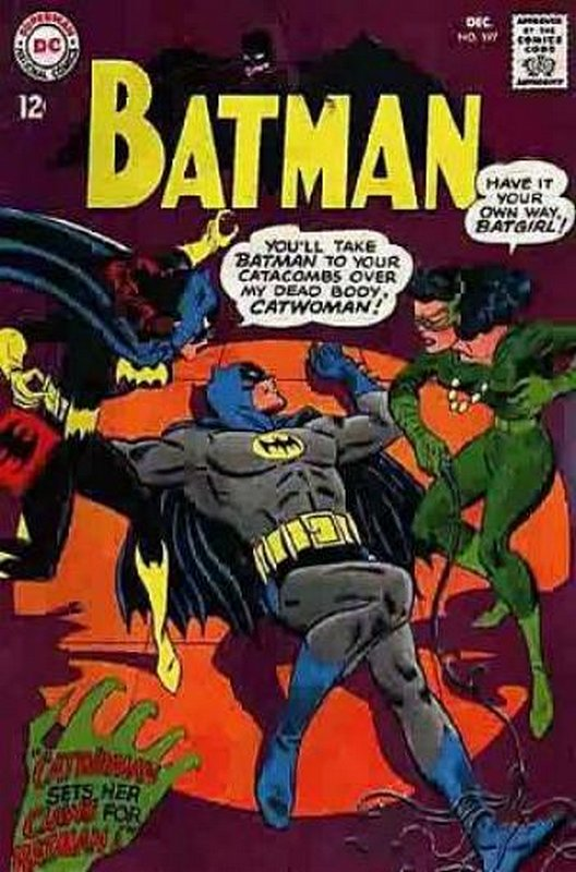 Cover of Batman #197. One of 250,000 Vintage American Comics on sale from Krypton!