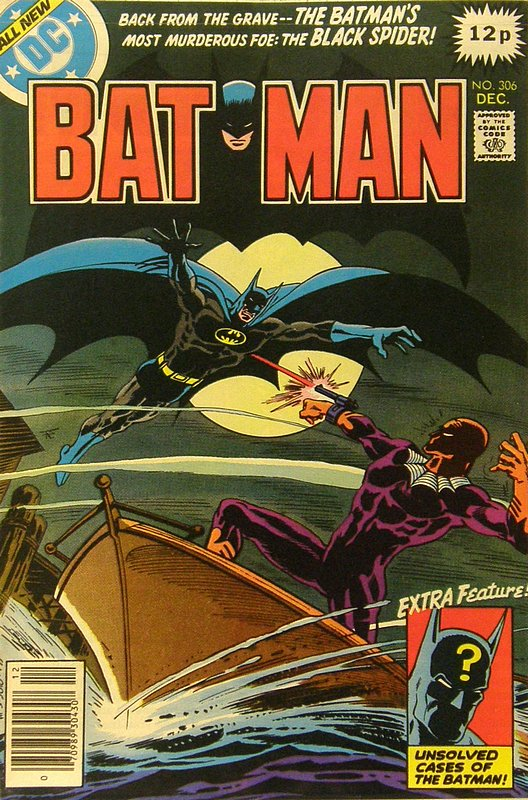 Cover of Batman #306. One of 250,000 Vintage American Comics on sale from Krypton!
