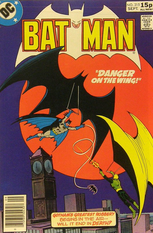 Cover of Batman #315. One of 250,000 Vintage American Comics on sale from Krypton!