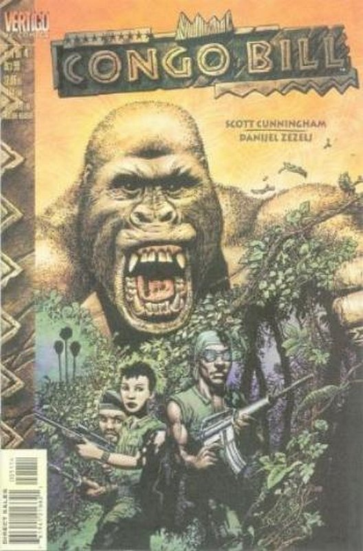 Cover of Congo Bill (1999 Ltd) #1. One of 250,000 Vintage American Comics on sale from Krypton!